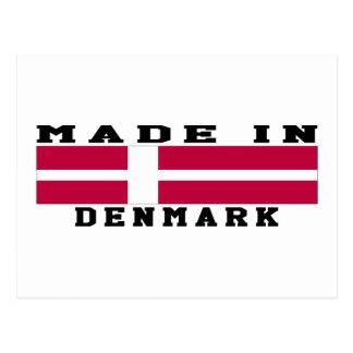 Dinamarca hizo en diseños postales