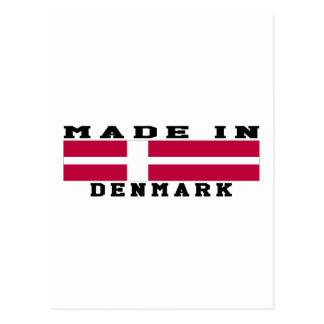 Dinamarca hizo en diseños tarjeta postal