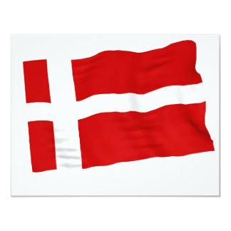 """Dinamarca Invitación 4.25"""" X 5.5"""""""