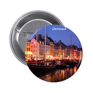 Dinamarca la noche Angie.JPG Pin Redondo De 2 Pulgadas