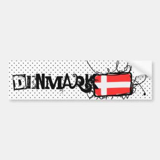 Dinamarca Pegatina Para Auto