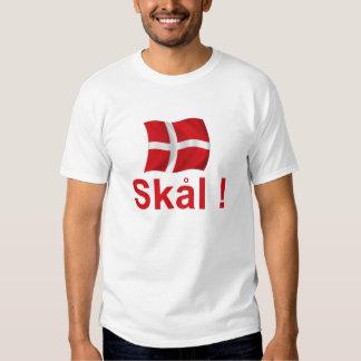 ¡Dinamarca Skal! Playeras