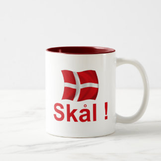 ¡Dinamarca Skal! Taza Dos Tonos