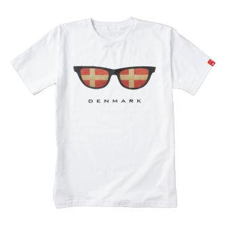 Dinamarca sombrea la camiseta de encargo playera zazzle HEART