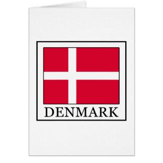 Dinamarca Tarjeta De Felicitación
