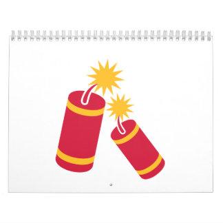 Dinamita Calendarios De Pared