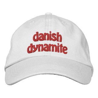 Dinamita danesa gorras bordadas