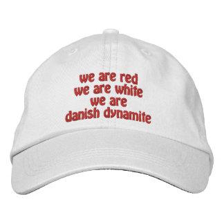 Dinamita danesa gorras de beisbol bordadas