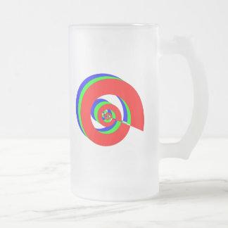 Dínamo del poder taza de cristal