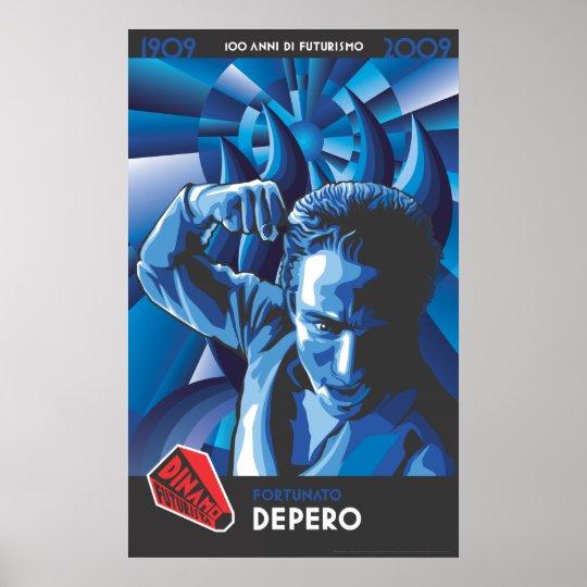 Dinamo Depero Poster