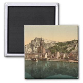 Dinant #1 Belgium 2 Inch Square Magnet