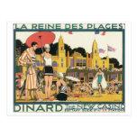 Dinard el nuevo poster del viaje del vintage del c postal