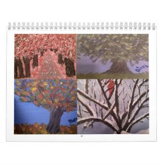 Dina's 2015 Artwork Calendar