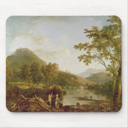 Dinas Bran from Llangollen, 1770-71 (oil on canvas Mouse Pad