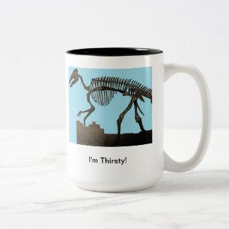 Dinasour Skeleton Mug