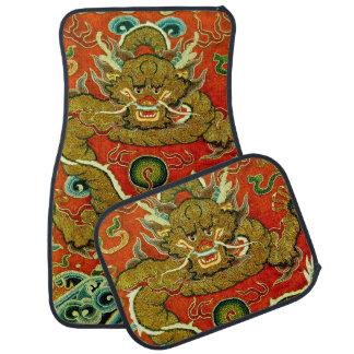 Dinastía de Qing china del bordado del dragón de Alfombrilla De Auto