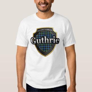 Dinastía del tartán de Guthrie Escocia del clan Poleras