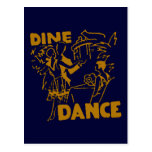 Dine And Dance Postcard