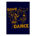 Dine And Dance Stationery Note Card