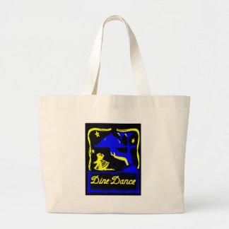 Dine & Dance Canvas Bags