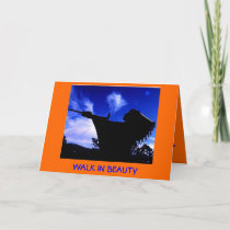 Dine (Navajo)   Walk In Beauty Card