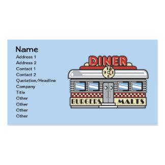 Diner Business Card