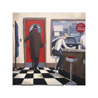 """Diner"" Canvas Print"