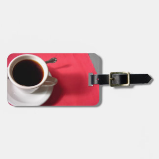 Diner Coffee Luggage Tag