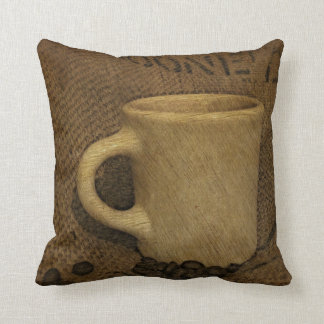 Diner Cup with Beans Pillow