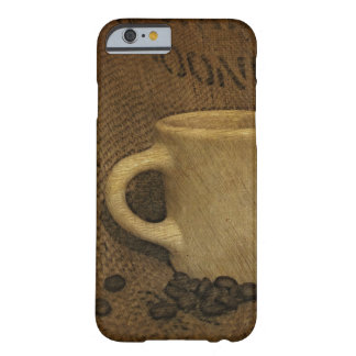 Diner Mug with Beans Sketch Case Barely There iPhone 6 Case