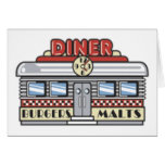Diner Stationery Note Card