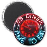 Diner - Time to eat Fridge Magnet