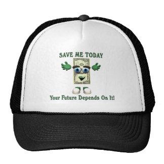 Dinero - ahórreme hoy gorras de camionero