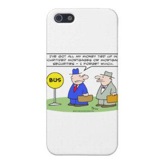 dinero asegurado seguridad de los hombres de negoc iPhone 5 cárcasas