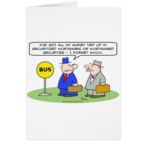 dinero asegurado seguridad de los hombres de negoc tarjeton