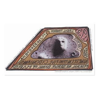 Dinero b de Brown Money-19 5 CYDONIANS-Martian Tarjetas De Negocios