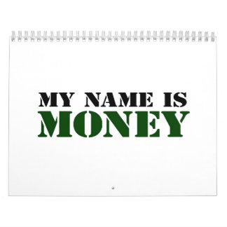Dinero Calendarios De Pared