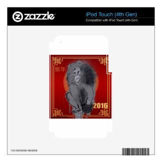 Dinero chino del Año Nuevo Skins Para iPod Touch 4G
