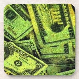 Dinero conseguido en mi mente posavaso