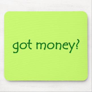 ¿dinero conseguido? Mousepad