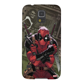 Dinero de Deadpool Carcasa Para Galaxy S5