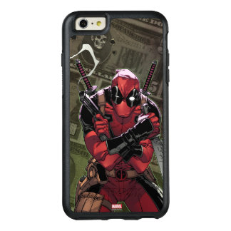 Dinero de Deadpool Funda Otterbox Para iPhone 6/6s Plus