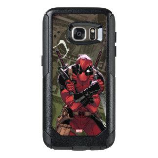 Dinero de Deadpool Funda Otterbox Para Samsung Galaxy S7