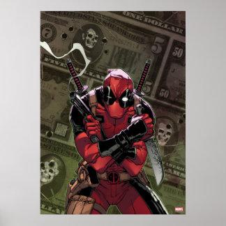 Dinero de Deadpool Póster