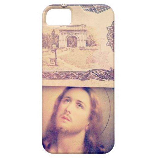 Dinero de Jesús iPhone 5 Case-Mate Protectores