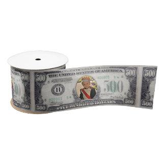 Dinero de la foto de $500 Bill - diy Lazo De Raso