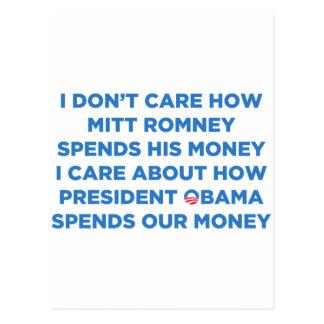 Dinero de Romney Postales