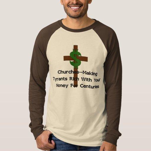Dinero del corazón de las iglesias playera