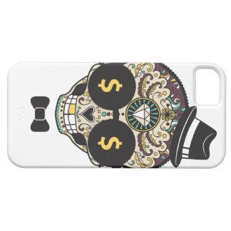 Dinero del cráneo del azúcar iPhone 5 funda