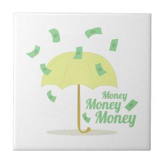 Dinero del dinero azulejo cuadrado pequeño